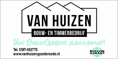 Advertentie Van Huizen Bouw- & Timmerbedrijf