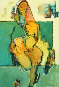 Dancing figure 100 x 70